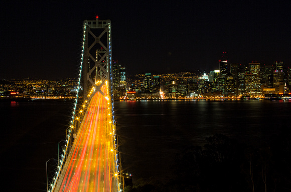 Bay Bridge - SF City Scape 1