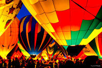Albuqueque International Balloon Fiesta - Glow