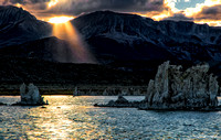 Sundown Rays - Mono Lake