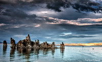 T. Scussel - Mono Lake at Sunset