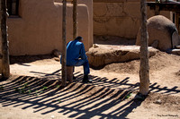 Waiting in the Shade, Taos Pueblo