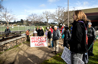 T. Scussel - Protesters  - at Pickleweed Park 5