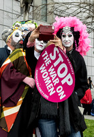 Photo By Terry Scussel  - Sisters of Perpetual Indulgence at Women's March SF 2