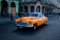 1953 Buick Orange Convertible